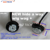 Wig Wag Aluminum Base Housing 8×3W LED Hide A Way Light Strobe