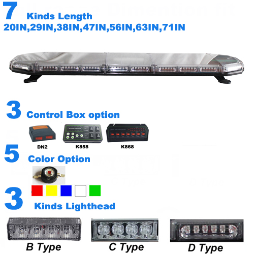 Why J&Z 8700 series led warning lightbar so hot