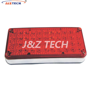 Ambulance 7.8×3.5× 1.5 inch LED perimeter surface mount light
