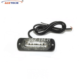 Durable 6 LEDs Car Roof Warning Light Led Police Strobe