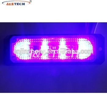 Linear 4 Bulbs Led Car Surface Strobe Headlight Ambulance