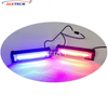 12V Two Pairs Linear Colorful Amber Grill Strobe Dash Light with Controller Box