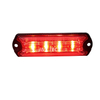 Factory 4 leds super thin car strobe police warning lights