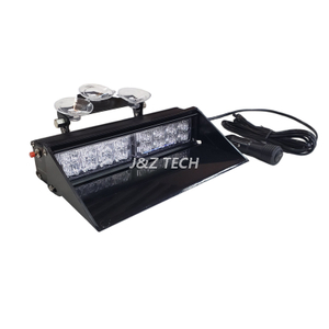 Car interior led dash flash strobe light led windshield warning strobe light