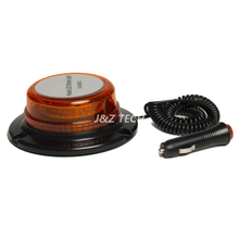 Cheap Amber 15 Watt led rotating beacon warning light emergency vehicle led magnetic beacon lights